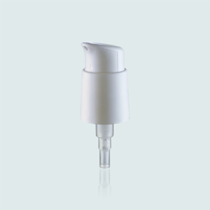 24mm White Cosmetic Treatment Pumps Plastic PP Perfume Pump Sprayer JY505-01D